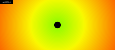html canvas experiments - colorCircle